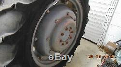 11 X 32 3 Part Rear Wheels With Tyres Massey Ferguson Fergy Mf 65 / Mf165