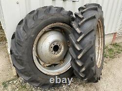 12.4 x 28 GoodYear Tractor Tyres (Ford 3000 / Massey Ferguson 135)