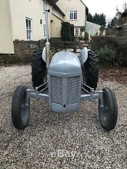 1948 Grey Massey Ferguson Tractor & Hayters Topper