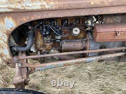 1950 Massey Ferguson T20 TED20 Petrol Parrafin Tractor Grey Fergie Grey Ferguson