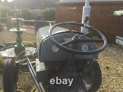 1950 era Ferguson little grey fergie tractor TEA20 petrol/vaporising Oil