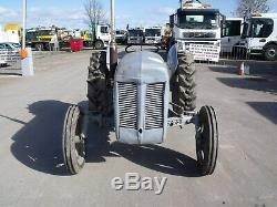 1955 Massey Ferguson TE20 Tractor