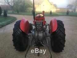 1958 Massey ferguson 35 3cylinder