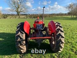 1959 Massey Ferguson 35 4 Cylinder Diesel Tractor With V5 & Ageing Certificate