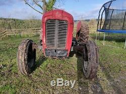 1959 Massey Ferguson 35 tractor 4 cylinder