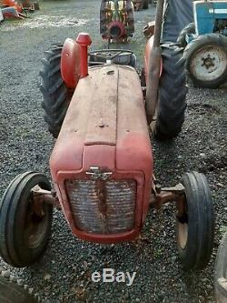 1962 Massey Ferguson Mf 35 Tractor 3 Cylinder Diesel