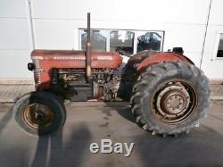 1964 Massey Ferguson MF65 MKII Vintage Tractor Classic Barn Find MF 65
