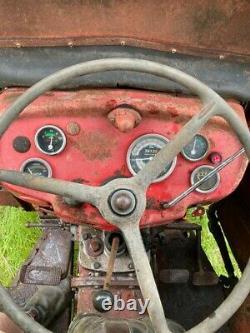 1967 Massey Ferguson Mf 135 Tractor With Front Loader & Lambourn Cab No Vat