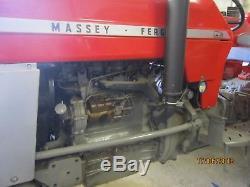 1969 Massey Ferguson 165 Restored 5 Years Ago -only Used For Road-runs V. G. C