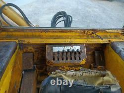 1973 Massey Ferguson 50B Digger Backhoe 4 in 1 front bucket Road Registered