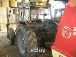1993 Massey Ferguson 390t 4x4 tractor
