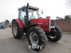 1995 MASSEY FERGUSON 6180 Tractor