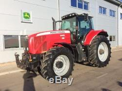 2005 Massey Ferguson 8460 Tractor 240hp 50k 4598 Hours Dyna VT A/C Front linkage