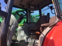 2008 Massey Ferguson 6480 Tractor 155hp 50k Dyna6 3206 Hours 3SCV A/C PUH