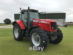 2011 Massey Ferguson 7480 Dyna Vt Tractor. 50k Vario, Air Brakes, New Tyres