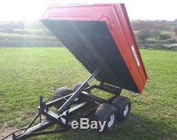 2014 Tractor Massey Ferguson 1235 With Loader + Tipping Trailer