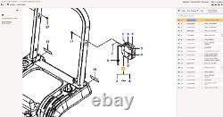 6256747M91 Left Hand Rear Tractor Light Unit For Massey Ferguson GC1705 GC1715