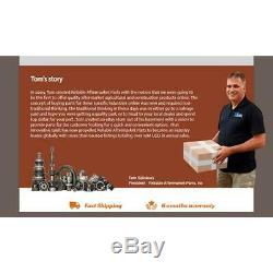 886682M97 Hydraulic Lift Pump With Horiz Valve For Massey Ferguson 135 150 165