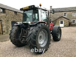 #A0101 1993 Massey Ferguson 3095 Dynashift 40KPH oversize tyres. Excellent cond