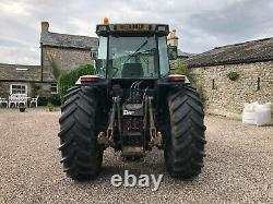 #A0111 1994 Massey Ferguson 3655 Dynashift 40KPH tractor with front linkage MF JD