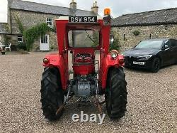 #A0113 1961 Massey Ferguson 35 with Duncan cab Tidy tractor MF 135 240 No VAT