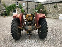 #A0118 1976 Massey Ferguson 20 135 industrial tractor Tidy Foot throttle NO VAT
