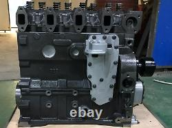 All New Long Block For 4B Cummins Engine 3.9L CASE 8V complete truck Tractor