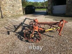 #B1074 PZ Zweegers Haybob 200 rake tedder hay straw Massey Ford Ferguson mower