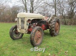 Classic Vintage 1952 Massey Ferguson Tef20 Diesel Tractor. Barn Find