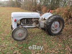 Classic Vintage 1955 Massey Ferguson Tek20 Vineyard Tractor. Barn Find