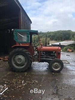Classic Vintage 1963 Massey Ferguson 35 Tractor