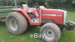 Compact tractor massey ferguson 1250 iseki TK532