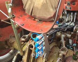 Dual Hydraulic remote kit Massey Ferguson MF 265 270 282 283 290 360 362 383 390