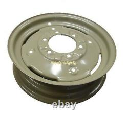FRONT WHEEL RIMS 4.50 x 16, PAIR, TO FIT 600 x 16 TYRE, FOR VARIOUS TRACTORS