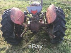 Ferguson 35 Vintage Tractor Fe35 Diesel Fergie Smallholder Enthusiast Massey