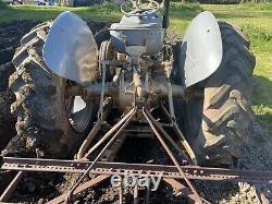 Ferguson FE 35 Grey & Gold Massey Vintage Tractor