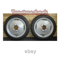 Ferguson T20 Tractor pair of Front Wheels Tyres & Tubes BRAND NEW