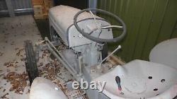 Ferguson TE20 tractor, classic grey colour