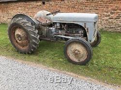 Ferguson Tea20 Vintage Tractor Grey Fergie Massey T20 Excellent Starter Original