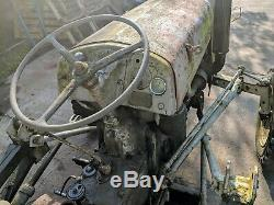 Ferguson Tef20 Vintage Tractor Grey Fergie Massey T20 Diesel
