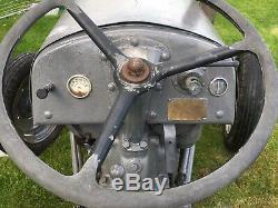Ferguson Tef20 Vintage Tractor Grey Fergie Massey T20. Diesel & Excellent Starter