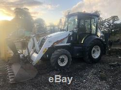 Fermec digger Massey Ferguson Jcb Excavator