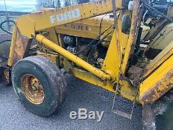 Ford 13/6 Digger Loader 550 Jcb 3cx Massey Ferguson