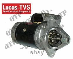 Fordson Dexta, Super, Massey Ferguson Tef 20, Fe35 Starter Motor Genuine Lucas Tvs