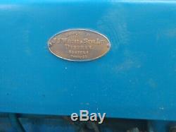 Fordson Super Dexta Diesel Tractor Classic Vintage Not Massey Ferguson 35/135