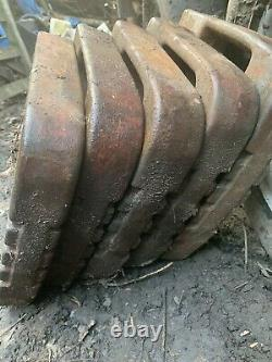 Front Counter Weights X5 Tractor Massey Ferguson 135 35 65 165 188 Etc Ford