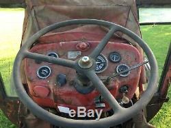 Fully Original Massey Ferguson 135 Vintage Tractor Fergie Off Farm Barn Find
