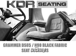 Grammer Ds85 / H90 90 Type Tractor Seat Cushions John Deere Massey Ferguson Mf