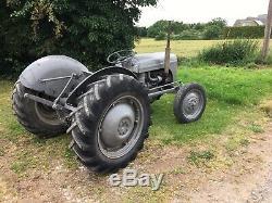 Grey Fergie Ferguson Tef20 Vintage Tractor T20. Diesel Massey 35