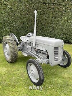 Grey Ferguson TE20 With Front End Loader Grey Fergie Tractor TEA 20 Petrol TVO